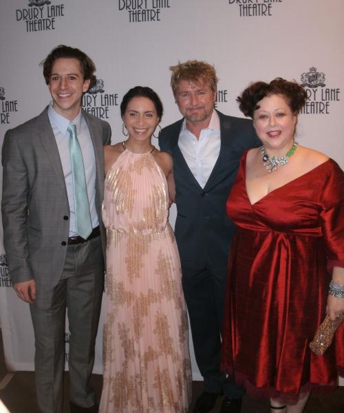 Skyler Adams, Christina Nieves, Ivan Rutherford, Sharon Sachs Photo