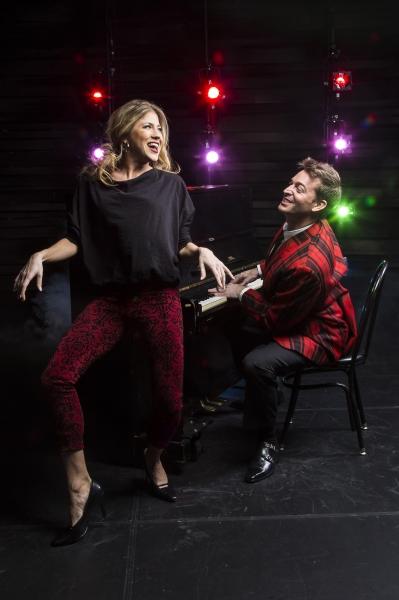 Ashley Blair Fitzgerald and Levi Kreis