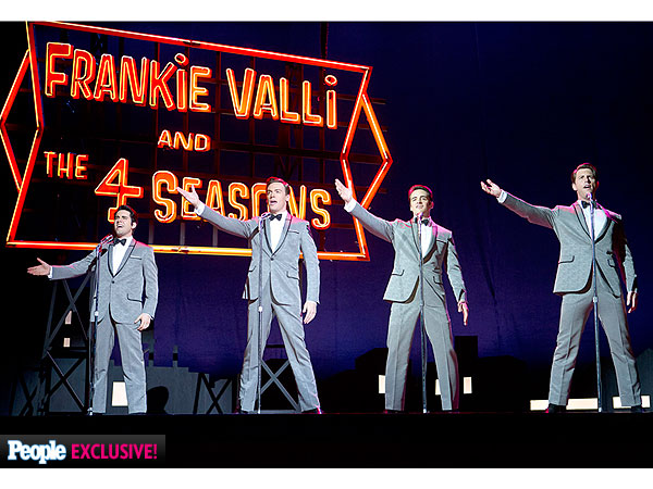 FIRST LOOK - New Photo of John Lloyd Young in JERSEY BOYS Film