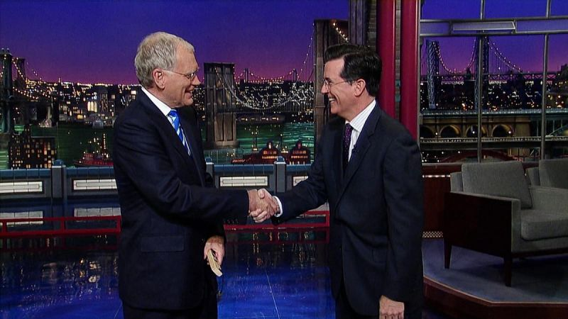 BREAKING: Stephen Colbert to Replace David Letterman as Host of LATE SHOW!