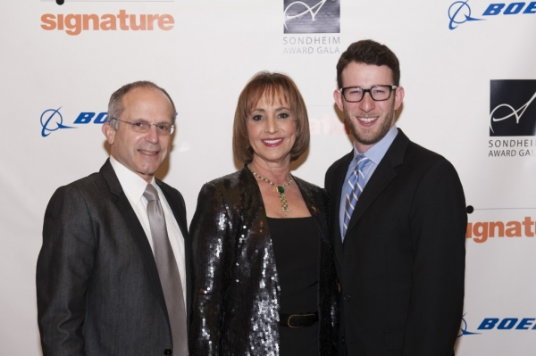 Kenneth Feld, Bonnie Feld, Nick Blaemire Photo