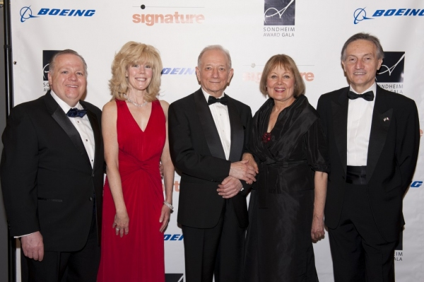 Tim Keating from Boeing, his wife Ann Keating, Jonathan Tunick, Leigh Berry and Italian Ambassador Claudio Bisogniero
