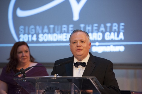 Photo Flash: Heidi Blickenstaff, Pamela Myers & More Honor Jonathan Tunick at Signature Theatre's 2014 Sondheim Awards Gala