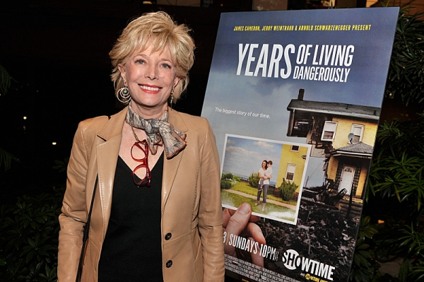 Lesley Stahl (''Years'' correspondent) attends the Showtime screening of ''Years Of Living Dangerously'' at Ford Foundation''s New York Headquarters on April 9, 2014 in New York City. - Photo:  Stephen Lovekin/Getty Images for SHOWTIME - Photo ID:  YOLD_S
