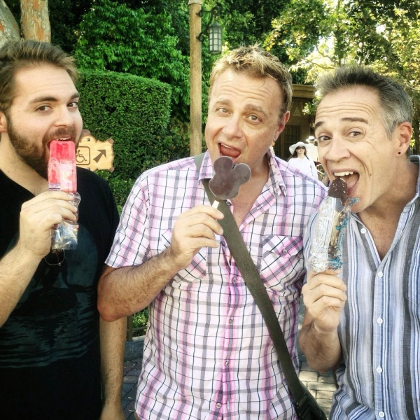 Alex Mendoza, Michael Colavolpe and Mark Harmon Photo