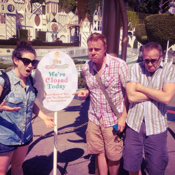 Photo Flash: Touring Cast of MAMMA MIA! Visits Disneyland