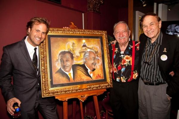 Jim Mulligan (artist), Milt Larsen and Richard Sherman