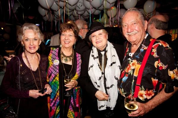 Tippi Hedren, Arlene Larsen, Ilene Larsen and Milt Larsen