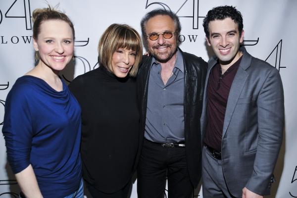 Anika Larsen, Cynthia Weil, Barry Mann and Jarrod Spector Photo