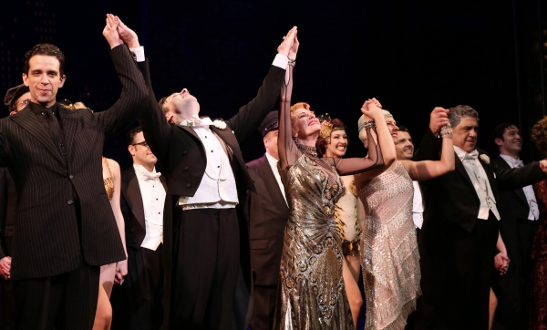 Photo Coverage: Sitting at the Top of the World! BULLETS OVER BROADWAY Cast Takes Opening Night Bows