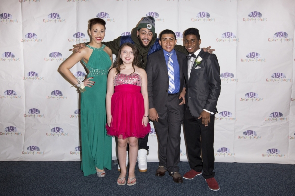 Travie McCoy and Garden of Dreams prom attendees. Credit: MSG Photos
