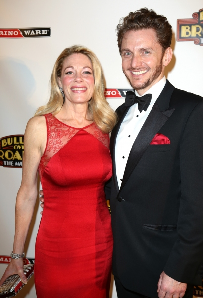 Photo Coverage: Zach Braff, Marin Mazzie & BULLETS OVER BROADWAY Cast Celebrates Opening Night!