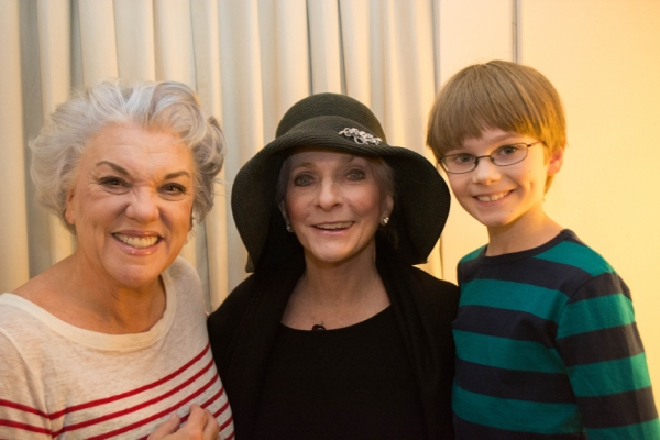 Tyne Daly, Judy Collins, Grayson Taylor