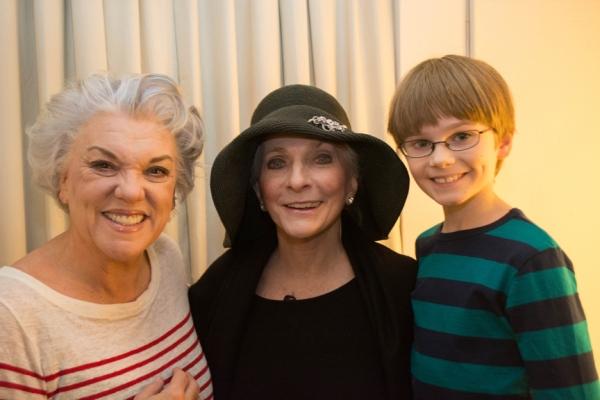 Tyne Daly, Judy Collins, Grayson Taylor
