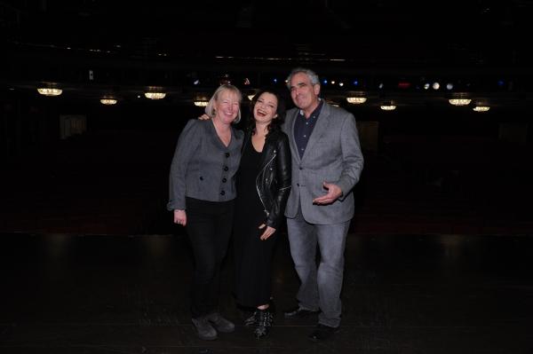 Prudence Fraser, Fran Drescher, Robert Sternin