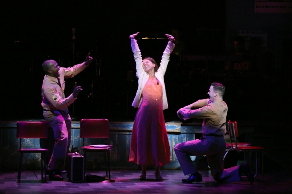 Photo Flash: First Look at Sutton Foster, Colin Donnell, Joshua Henry and More in Roundabout's VIOLET!