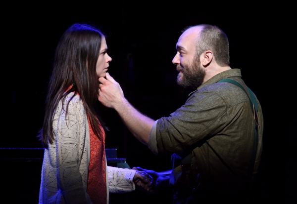 Sutton Foster and Alexander Gemignani