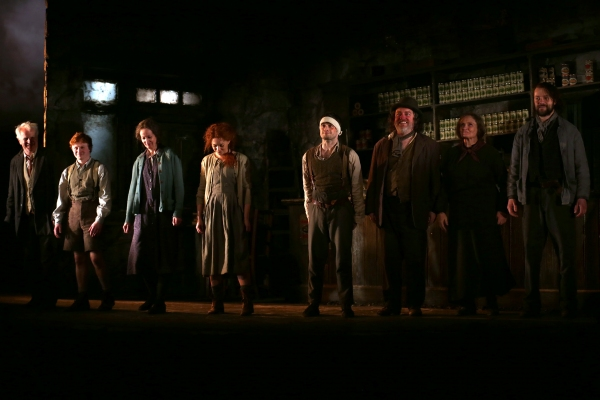Gary Lilburn, Ingrid Craigie, Sarah Greene, Daniel Radcliffe, Pat Shortt, Gillian Han Photo