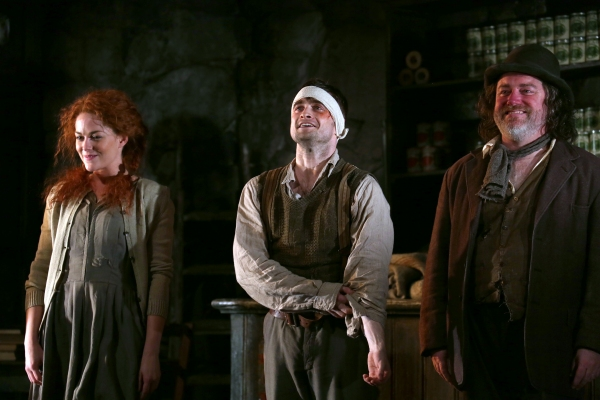 Sarah Greene, Daniel Radcliffe and Pat Shortt
