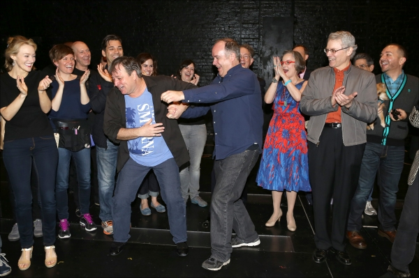 Exclusive Photo Coverage: Inside the BULLETS OVER BROADWAY Gypsy Robe Ceremony