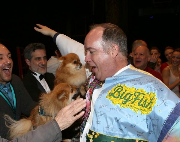 Bill Berloni, Trixie and Romeo with Kevin Ligon