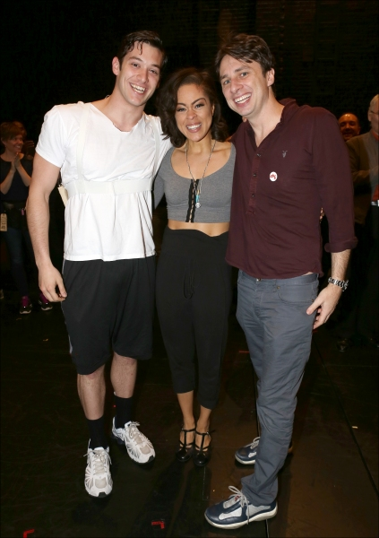 Broadway Debuts: Casey Garvin, Kelcy Griffin and Zach Braff Photo