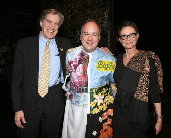 President of AEA Nick Wyman, Kevin Ligon and Executive Director of AEA Mary McColl