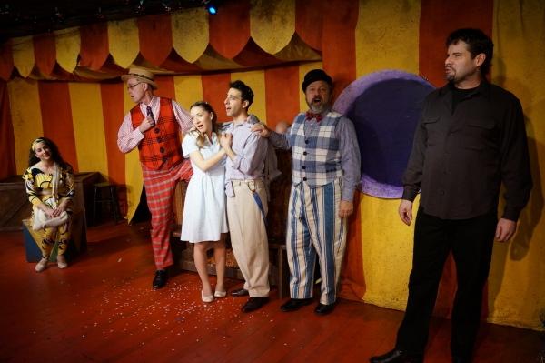 Shanna Ossi, Jack Doyle, Carissa Massaro, Jacob Heimer, Lou Ursone and Tony Lawson Photo