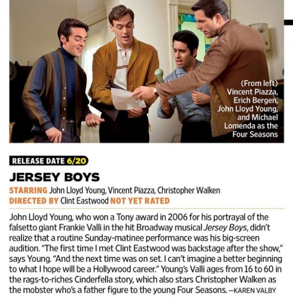 Photo Flash: Check Out the New JERSEY BOYS Movie Photo