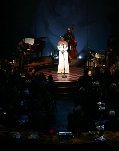Audra McDonald with Shelton Becton and George Farmer