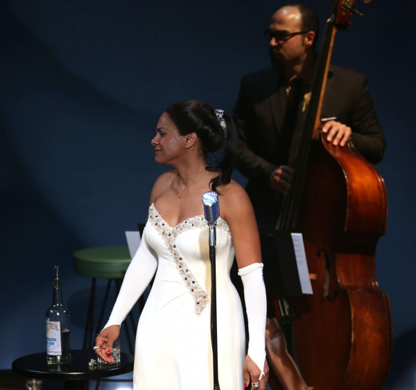 Audra McDonald and George Farmer