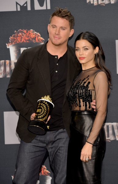 Channing Tatum at the 2014 MTV Movie Awards