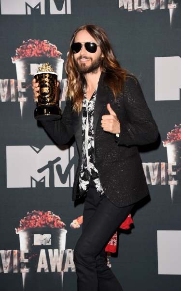 Jared Leto at the 2014 MTV Movie Awards