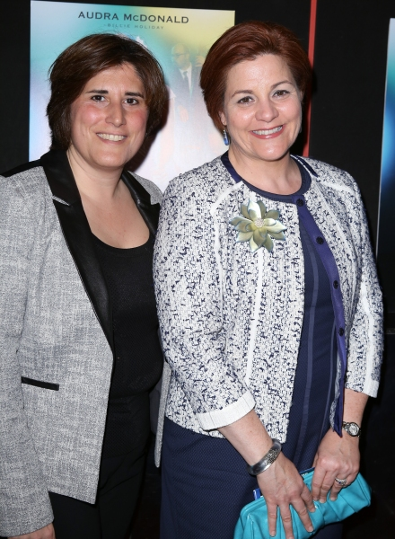 Kim Catullo and Christine Quinn