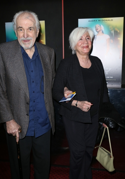 Louis Zorich and Olympia Dukakis  Photo
