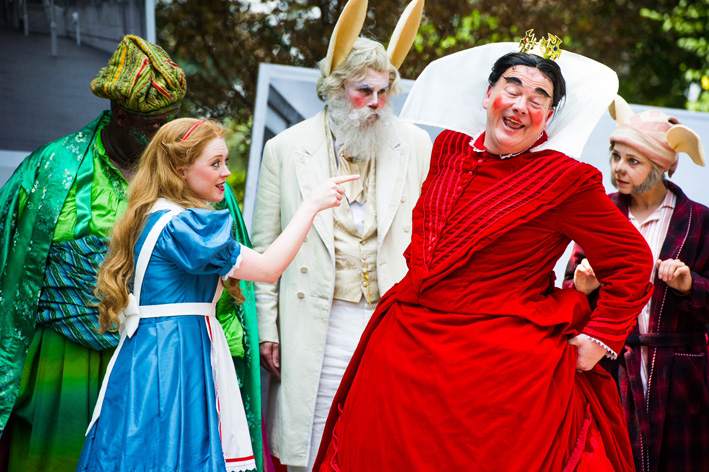 ALICE'S ADVENTURES IN WONDERLAND Returns to Opera Holland Park, Now thru 2 August