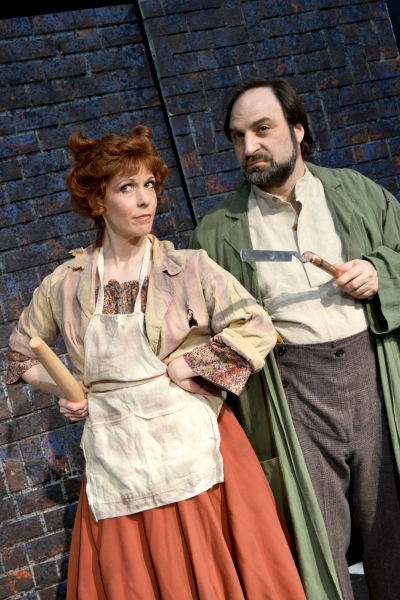 Photo Flash: First Look at Theatre Harrisburg's SWEENEY TODD