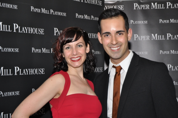 Cara Salerno (Assistant Choreographer) and Andres Acosta