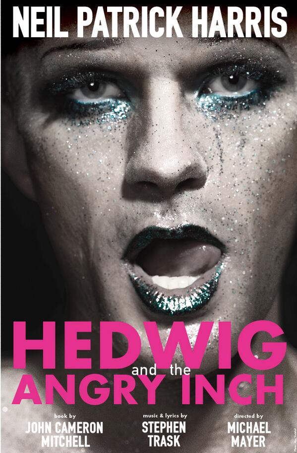 Backstage At HEDWIG THE ANGRY INCH With Neil Patrick Harris Company