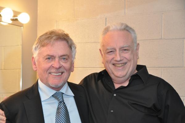Daniel Davis and Ed Dixon