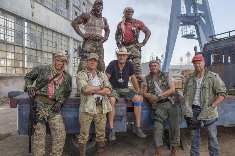FIRST LOOK - Stallone & More in New Image from EXPENDABLES 3