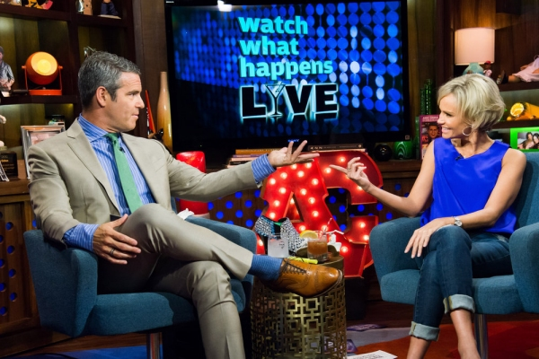 Andy Cohen, Kristin Chenoweth -- (Photo by: Charles Sykes/Bravo)