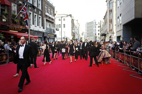 Photo Coverage: OLIVIERS 2014 - Red Carpet Part 1, Arterton, Goodman, Lindsay and More!