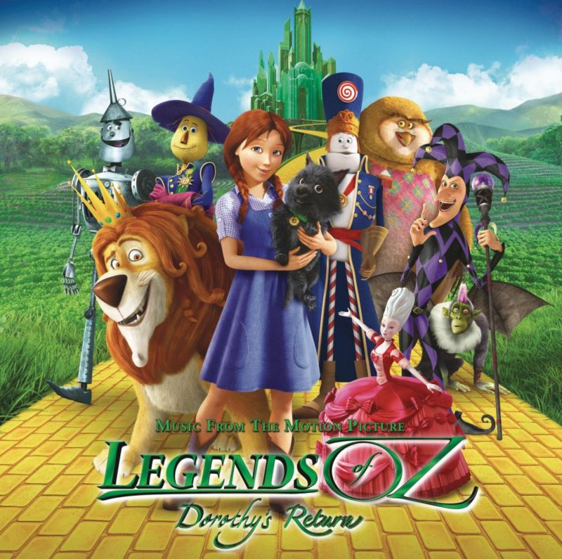 Soundtrack for LEGENDS OF OZ: DOROTHY'S RETURN Now Available