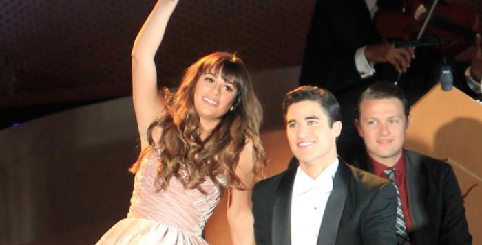 GLEE's Lea Michele & Darren Criss Play More Broadway Trivia