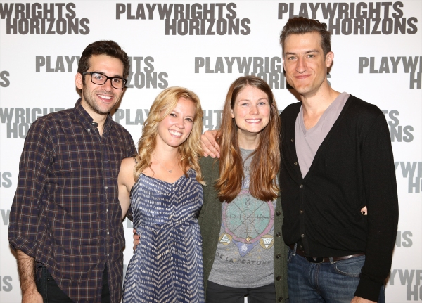 Adam Chanler-Berat, Pati Murrin, Allison Case and Bryce Ryness