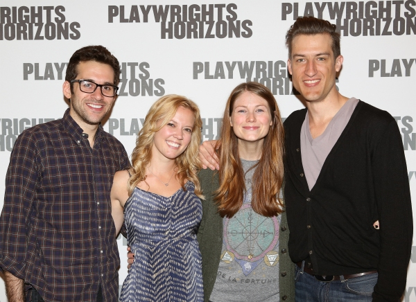 Photo Coverage: Playwrights Horizons' FLY BY NIGHT Company Meets the Press!