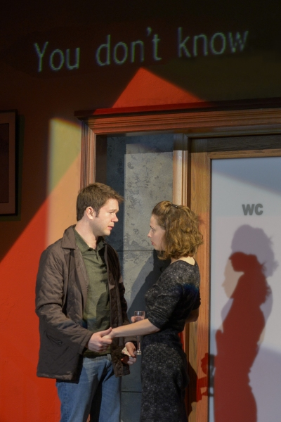 James Caverly (Billy) and Nell Geisslinger (Sylvia) Photo