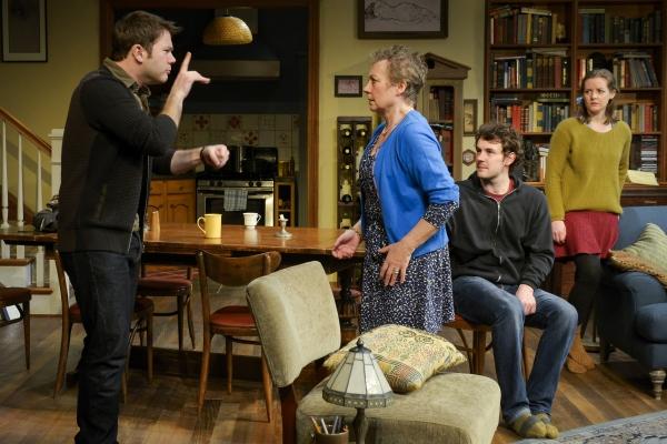 James Caverly (Billy), Anita Carey (Beth), Dan Clegg (Daniel), and Elizabeth Morton (Ruth)
