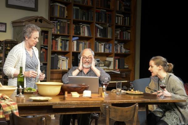 Anita Carey (Beth), Paul Whitworth (Christopher), and Elizabeth Morton (Ruth)